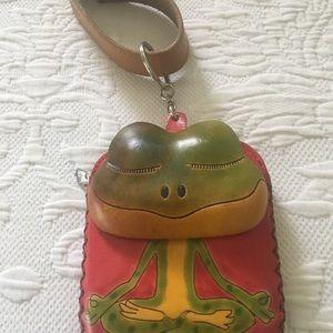 Handbags - Cute Frog Wristlet Change Purse